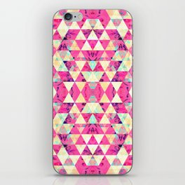 Pretty pattern pink iPhone Skin