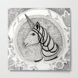 Unicorn Metal Print