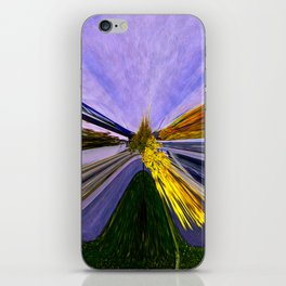 Abstracting Autumn iPhone Skin