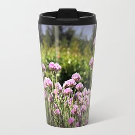 Chives & Bokeh Travel Mug
