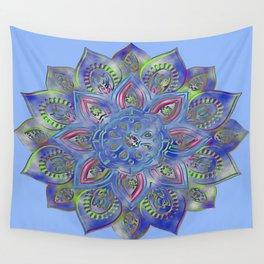 LOTUS glow Wall Tapestry