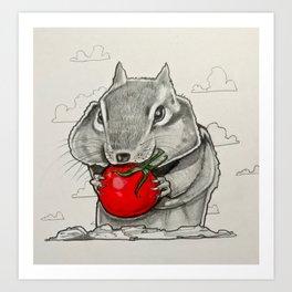 Chip n' Tomaters Art Print