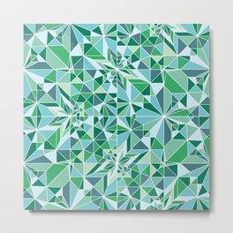 Kaleidoscopic rabbit Metal Print