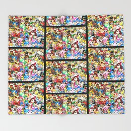 Nintendo Tribute Throw Blanket