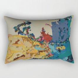 Arms Reaching Rectangular Pillow