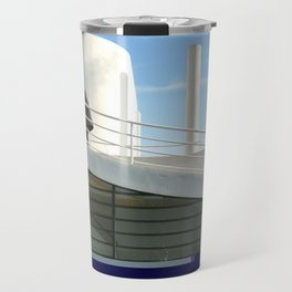 savoye glitch Travel Mug