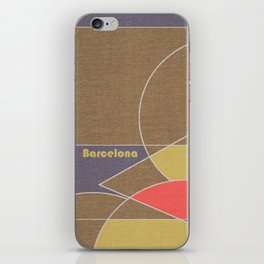 Barcelona Mosaic iPhone Skin