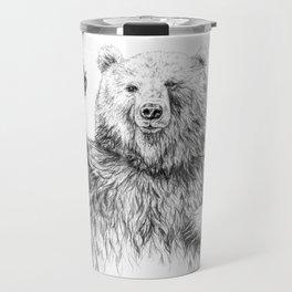 Waving Bear Travel Mug