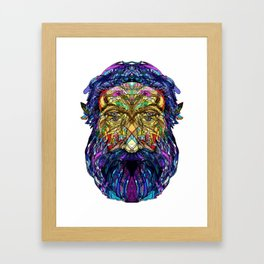 You're only given a little spark of madness Framed Art Print