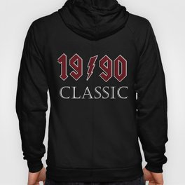 Top 1990 Birthday Rock Classic Gift Design Hoody