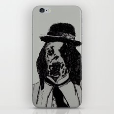 Dog Chaplin iPhone & iPod Skin