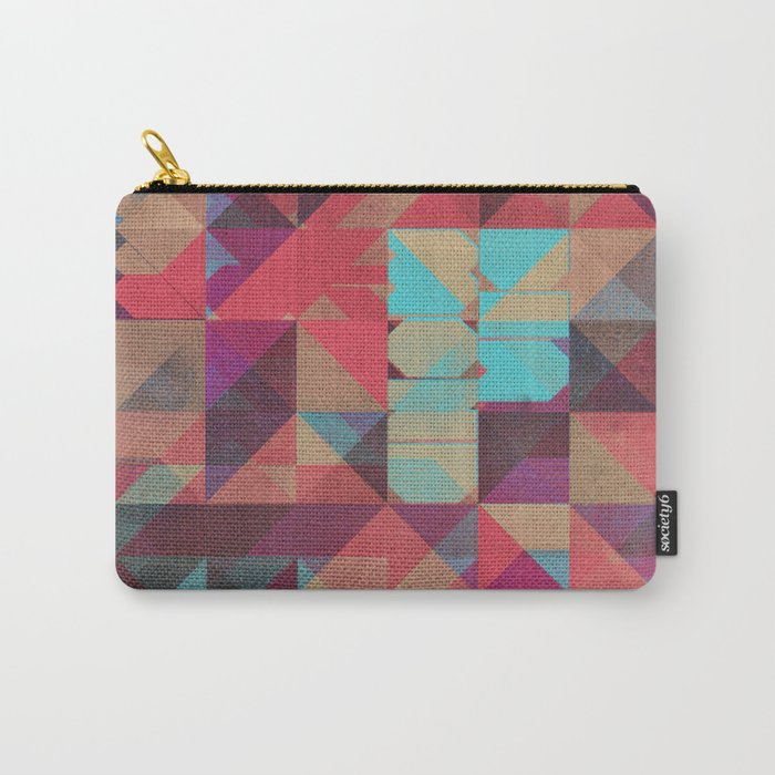 Risograph 1/Diamond Carry-All Pouch