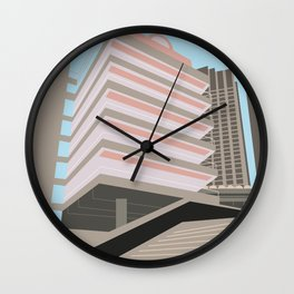 Brutalist London, The Barbican Wall Clock