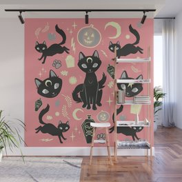 Witch Babies Wall Mural