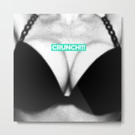 Ouch News #4 Metal Print