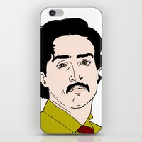 mad men iPhone & iPod Skins featuring Ginsberg - Mad Men by Aishling K