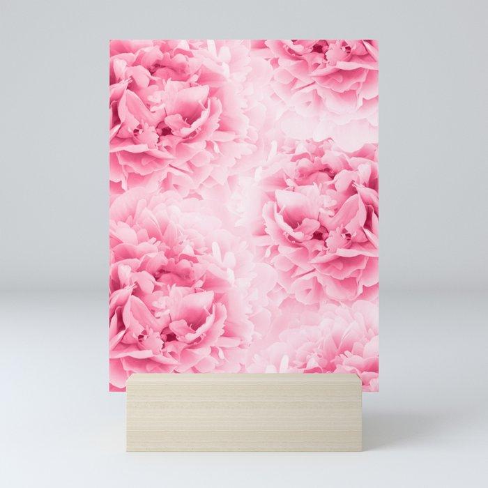 Light Red Peonies Dream #1 #floral #decor #art #society6 Mini Art Print