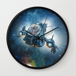 The Scout Ship Wall Clock