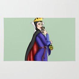 Selfie Evil Queen Snow White Rug