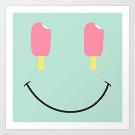 Acid Cream Art Print