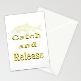 Catch and Release - Creations and designs for Anglers Stationery Cards