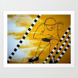 Bronx Gridlock Art Print