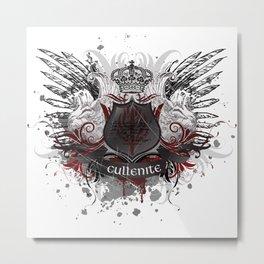 Cullenite Crest  Metal Print