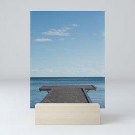 Dock on the Bay Mini Art Print