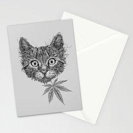 Critical Kitten Kush Stationery Cards