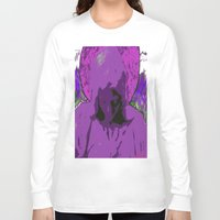 halo Long Sleeve T-shirts featuring Halo purple by Mylittleradical