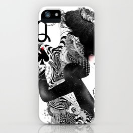 The Queen of Spades iPhone Case