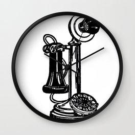 Old communication Wall Clock