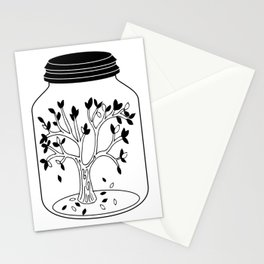 Fall In A Jar Stationery Cards