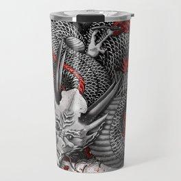 Black dragon Travel Mug