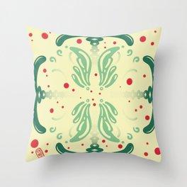 Pattern, wallpaper, forme, colori, flowers Throw Pillow
