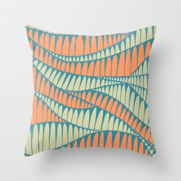 Sahara Desert in pastel colours 7 Throw Pillow