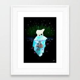 Wonders Above and Below Framed Art Print
