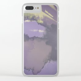 Patchwork world Clear iPhone Case