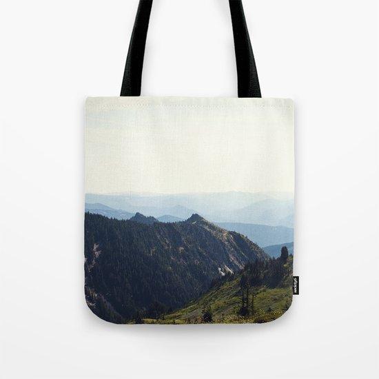 Sunny Mountain Tote Bag