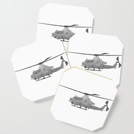 American Grey Attack Helicopter Coaster