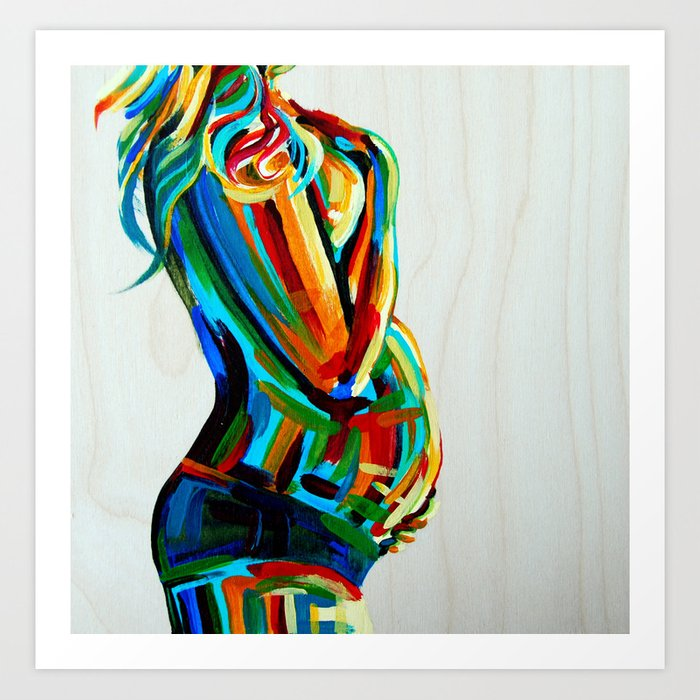Vibrant Stillness Art Print