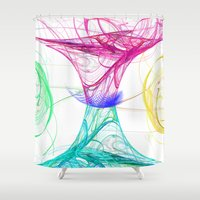 candy Shower Curtains featuring candy by haroulita