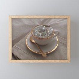 Cappuccino for anyone? Framed Mini Art Print