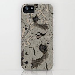 Lost. It's where she feels at ease. iPhone Case