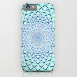 Just Breathe - Mandala Art iPhone Case