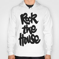 gorillaz Hoodies featuring Rock The House by Parys