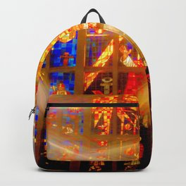 St. Andrew's Stain Glass ... By LadyShalene Backpack