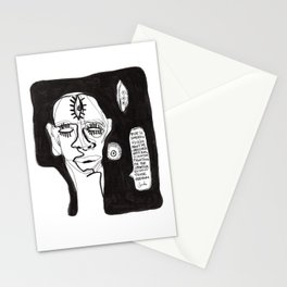 Oppression is a Caged Mind Stationery Cards