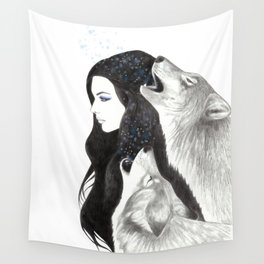 Winter Song Wall Tapestry
