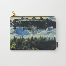 The alien ship over the forest Carry-All Pouch